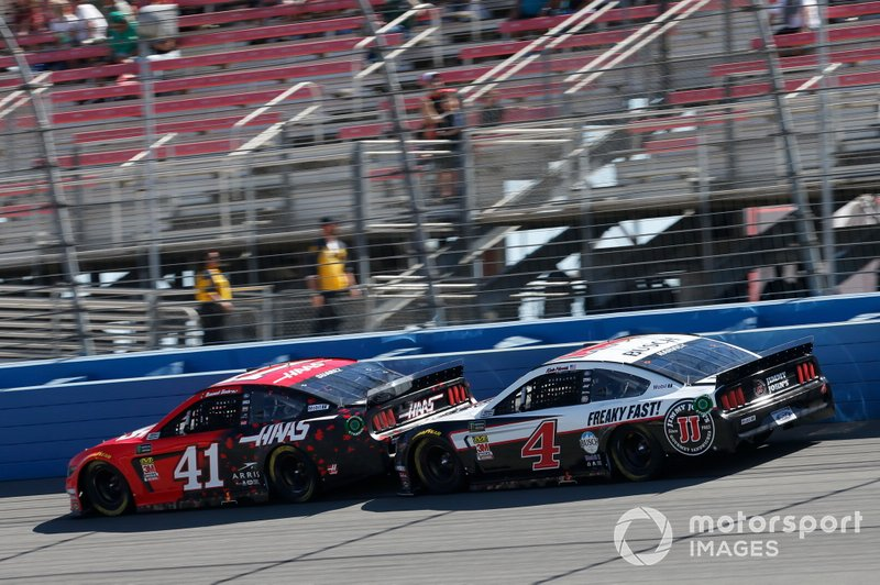 Kevin Harvick, Stewart-Haas Racing, Ford Mustang Jimmy John's Daniel Suarez, Stewart-Haas Racing, Ford Mustang Haas Automation