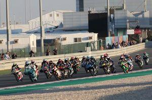 Lorenzo Dalla Porta, Leopard Racing leads start