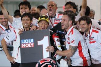 Race winner Kaito Toba, Honda Team Asia
