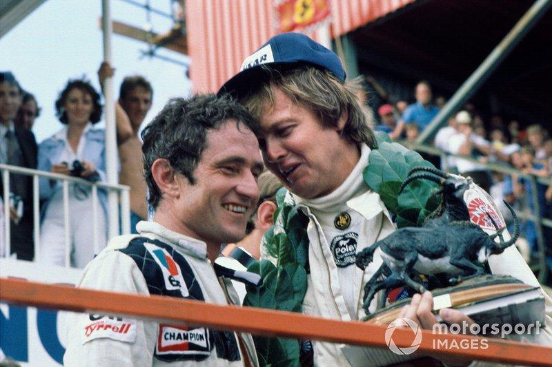 1. Ronnie Peterson, Lotus, 2. Patrick Depailler, Tyrrell
