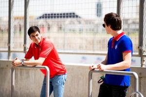 Giuliano Alesi, TRIDENT and Ralph Boschung, TRIDENT