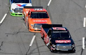 Tyler Ankrum, DGR-Crosley, Toyota Tundra May's Hawaii and Derek Kraus, Bill McAnally Racing, Toyota Tundra ENEOS/NAPA FILTERS