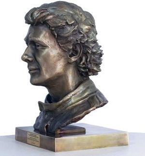 Escultura Ayrton Senna
