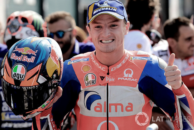 Second place Jack Miller, Pramac Racing