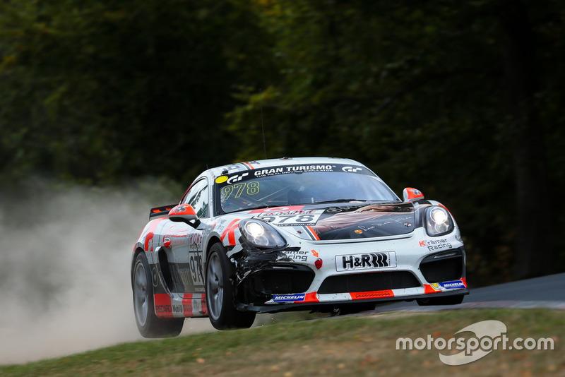 #978 Porsche Cayman GT4 CS: Karsten Krämer, Alexey Veremenko, Jean-Francois Brunot