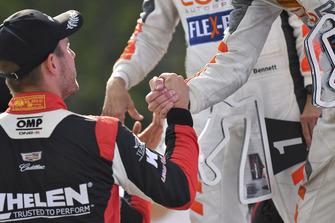 #54 CORE autosport ORECA LMP2, P - Jon Bennett, Colin Braun, #31 Action Express Racing Cadillac DPi, P - Eric Curran, Felipe Nasr