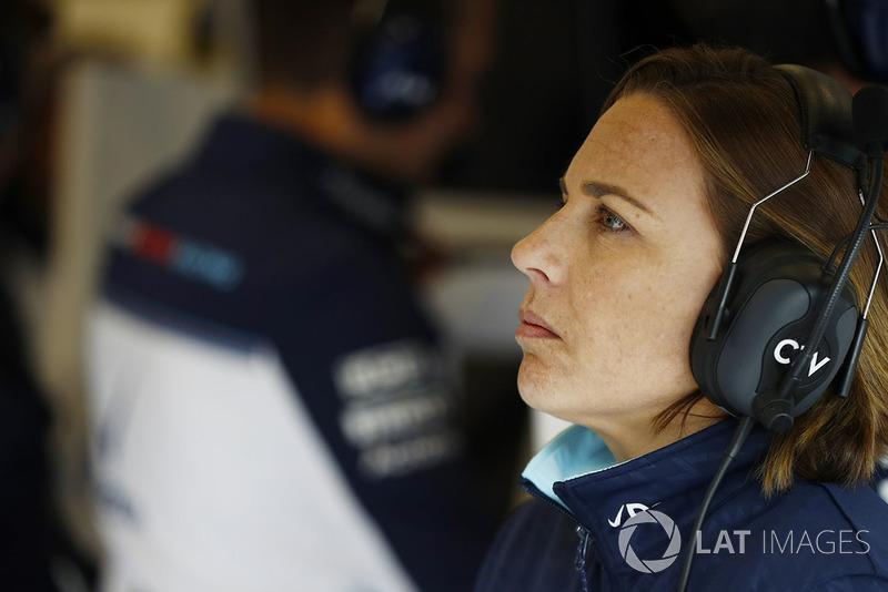 Заступник керівника Williams Martini Racing Клер Вільямс