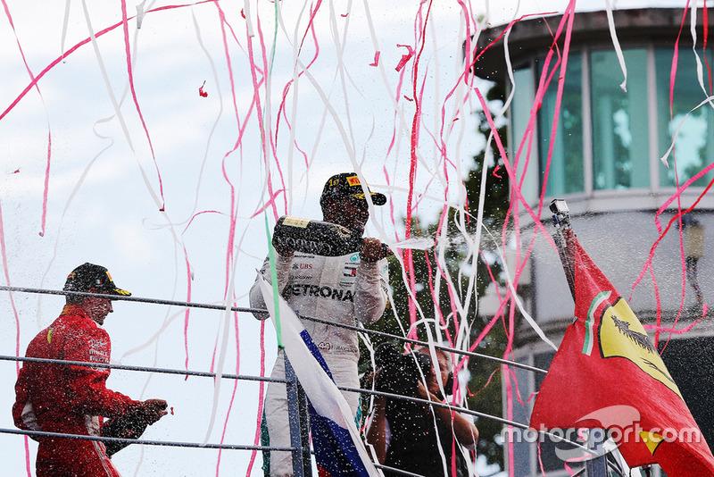 Podium GP Italia