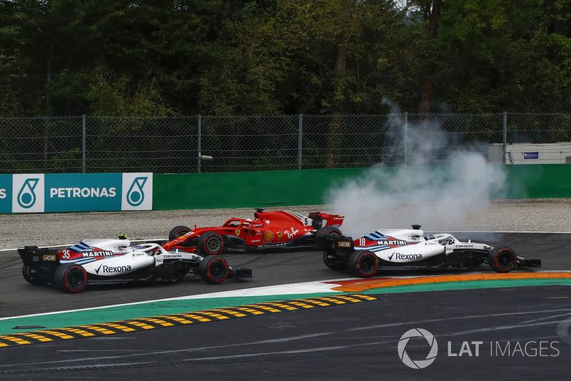 GP Italia: Senggolan dengan Lewis Hamilton