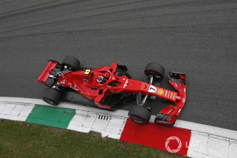 1º Kimi Raikkonen, Ferrari SF71H; Monza 2018: 263,588 km/h
