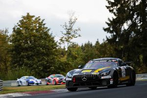 #164 Mercedes-AMG GT4: Miguel Toril Boquoi, Alexander Kolb