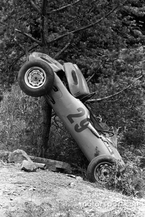 Crash: Carel Godin de Beaufort, Porsche 718