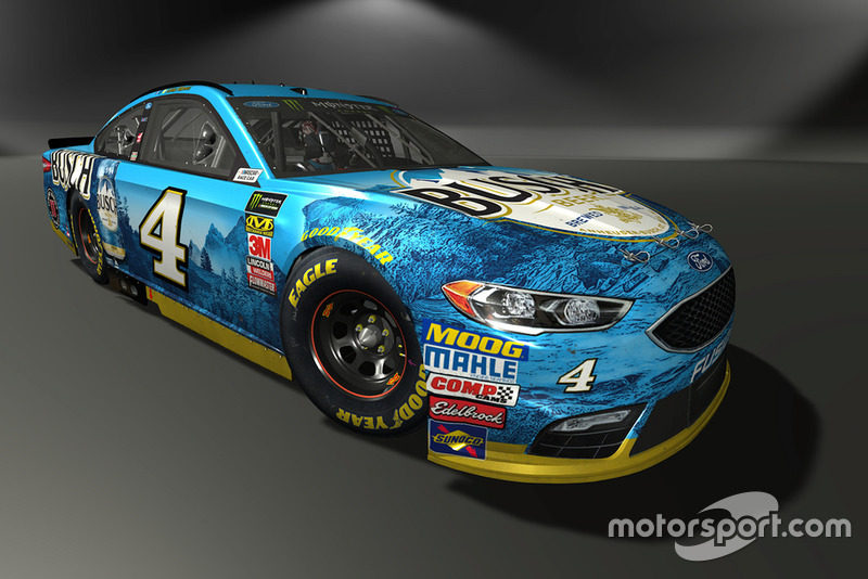 Kevin Harvick, Stewart-Haas Racing, Ford Fusion - NASCAR Heat 3 skin