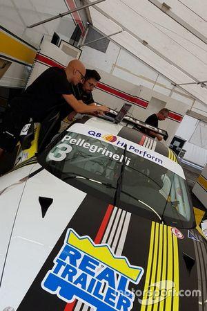La Porsche 911 GT3 Cup di Simone Pellegrinelli, Bonaldi Motorsport