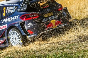 Teemu Suninen, Mikko Markkula, Ford Fiesta WRC, M-Sport Ford