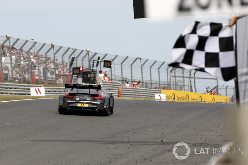 ganador Daniel Juncadella, Mercedes-AMG Team HWA, Mercedes-AMG C63 DTM