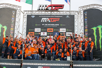 Jeffrey Herlings e il Red Bull KTM Factory Racing team