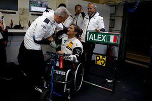 Alex Zanardi, BMW Team RMR with Jens Marquardt, BMW Motorsport Director