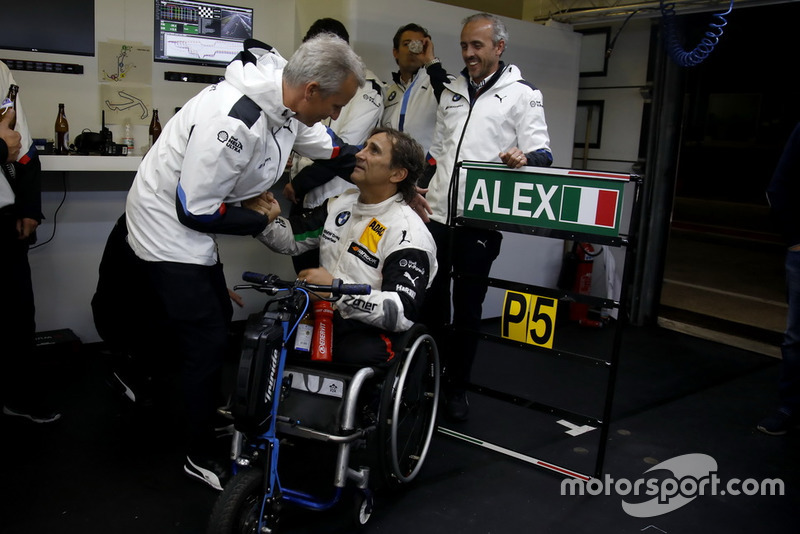 Alex Zanardi, BMW Team RMR con Jens Marquardt, director de BMW Motorsport