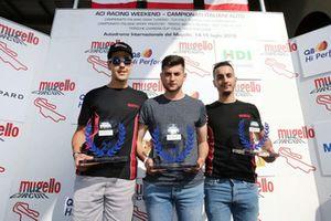 Podio Carrera Cup eSport
