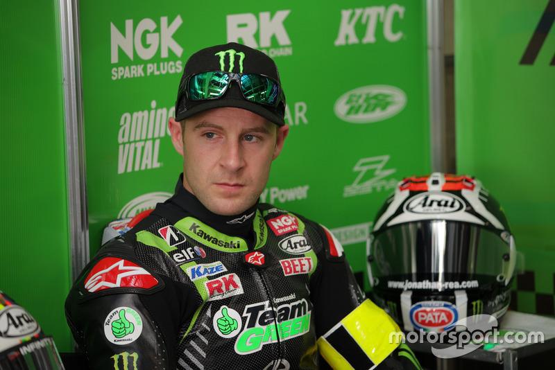 Jonathan Rea (# 11 Kawasaki Team GREEN)