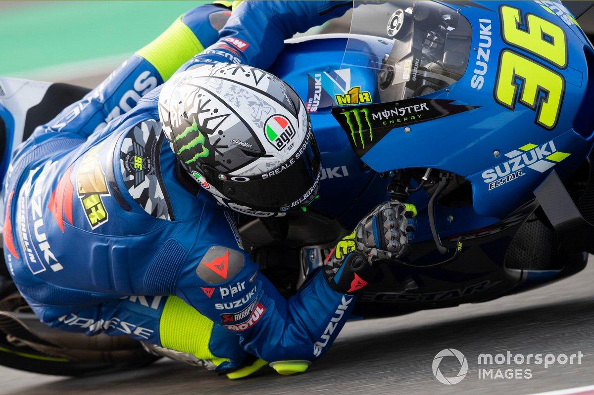 7º Joan Mir, Team Suzuki MotoGP - 1:53.827