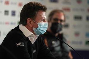 Allan McNish, Team Principal, Audi Sport Abt Schaeffler, in the press conference