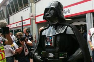 Darth Vader in the pits