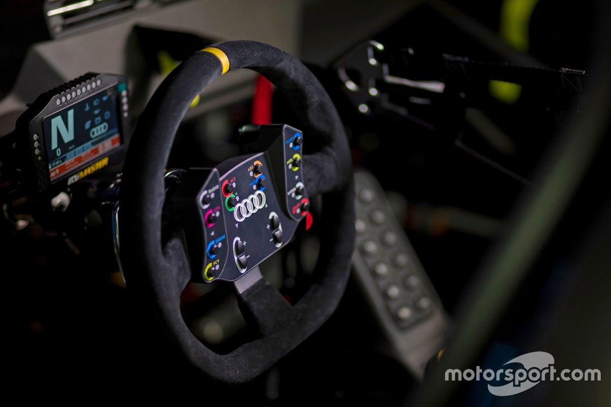 Dettagli dell'abitacolo dell'Audi RS 3 LMS TCR