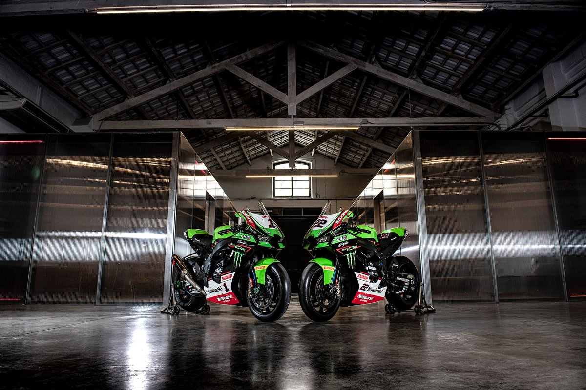 La moto di Jonathan Rea, Kawasaki Racing Team WorldSBK, Alex Lowes, Kawasaki Racing Team WorldSBK