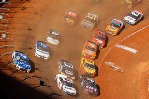 Vista aérea de la carrera de tierra