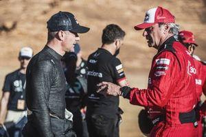 Sebastien Loeb, X44, and Carlos Sainz, Sainz XE Team