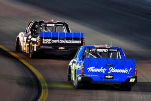 Sheldon Creed, GMS Racing, Chevrolet Silverado Chevy Accessories/Trench Shoring and Brett Moffitt, GMS Racing, Chevrolet Silverado Plan B Sales