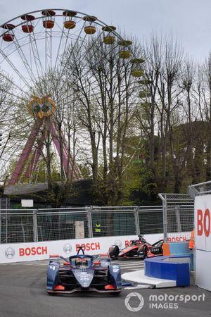 Robin Frijns, Envision Virgin Racing, Audi e-tron FE07, Sebastien Buemi, Nissan e.Dams, Nissan IMO2