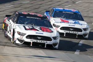 Michael McDowell, Front Row Motorsports, Ford Mustang Fr8Auctions, Anthony Alfredo, Front Row Motorsports, Ford Mustang iRacing