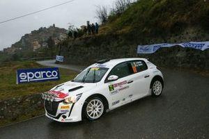 Andrea Nucita, Giuseppe Nucita, Peugeot 208 Rally4 #74