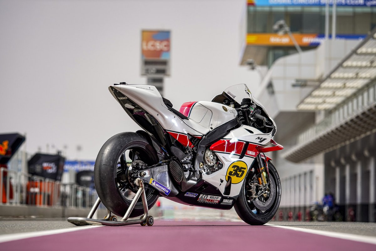 Yamaha YZR-M1, 60th Grand Prix Racing Anniversary livery