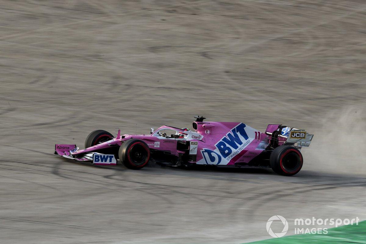 Fuoripista di Sergio Perez, Racing Point RP20