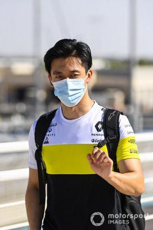 Guanyu Zhou, Renault F1