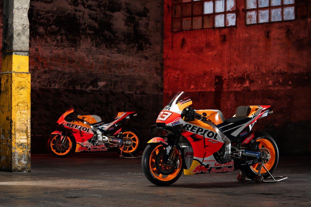 Motos de Marc Marquez, Repsol Honda Team, Pol Espargaro, Repsol Honda Team
