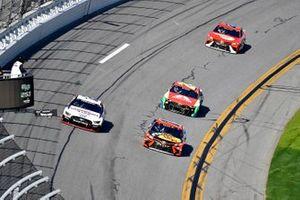 Brad Keselowski, Team Penske, Ford Mustang Discount Tire and Martin Truex Jr., Joe Gibbs Racing, Toyota Camry Bass Pro Shops