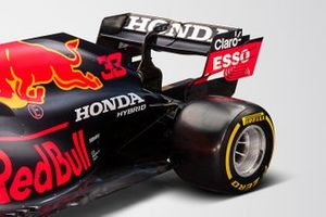 Red Bull Racing RB16B rear detail