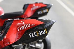 Detalle de la moto Ducati Team
