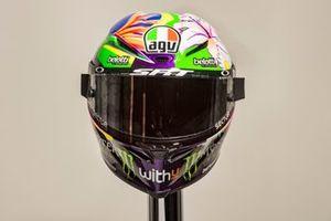 El casco de Franco Morbidelli, Petronas Yamaha SRT