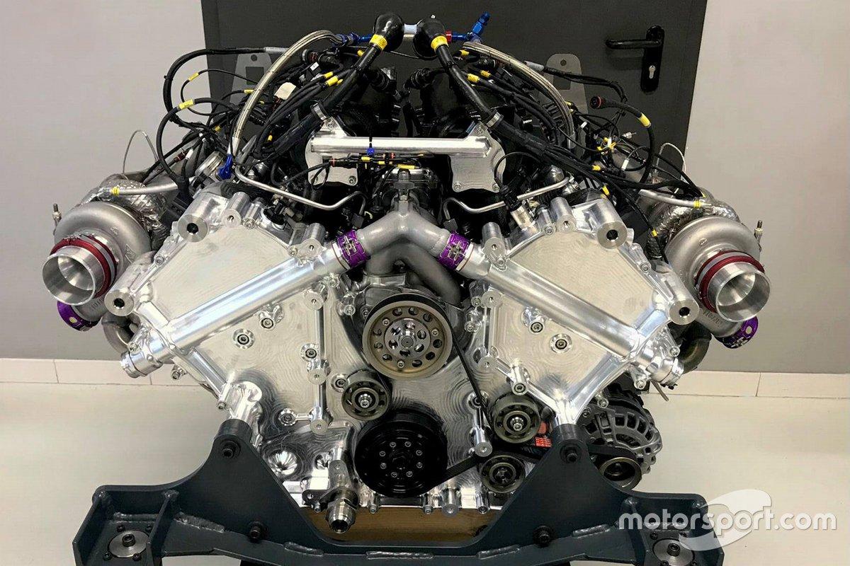 Glickenhaus 007 LMH il motore della Pipo Motors