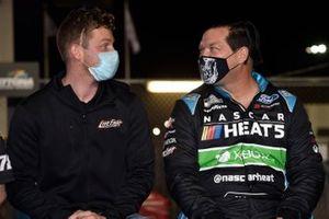 Matt Tifft, BJ McLeod, Live Fast Motorsports, Ford Mustang NASCAR Heats