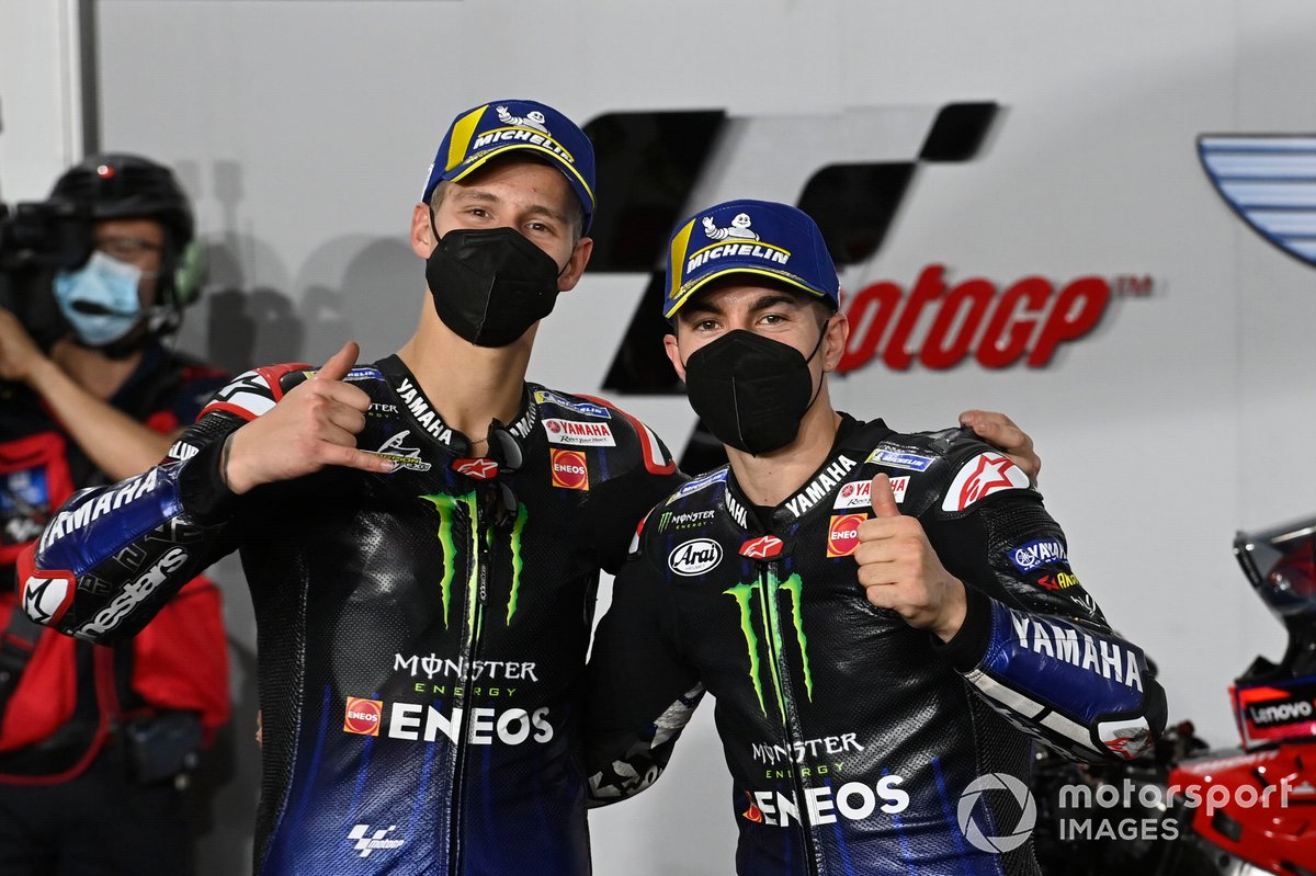 Fabio Quartararo, Yamaha Factory Racing, Maverick Viñales, Yamaha Factory Racing