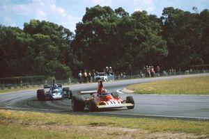 Clay Regazzoni, Ferrari 312T, Patrick Depailler, Tyrrell 007