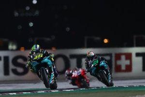 Valentino Rossi, Petronas Yamaha SRT Franco Morbidelli, Petronas Yamaha SRT