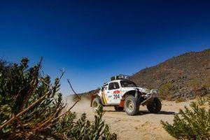 #204 Benoit Callewaert, Ghislain Morel, Volkswagen Beetle Baja